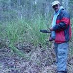 Greg Sawka deliniating hydric soils